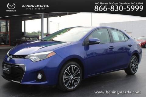 2014 Toyota Corolla for sale at Bening Mazda in Cape Girardeau MO