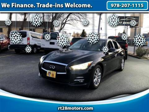 2017 Infiniti Q50 for sale at RT28 Motors in North Reading MA