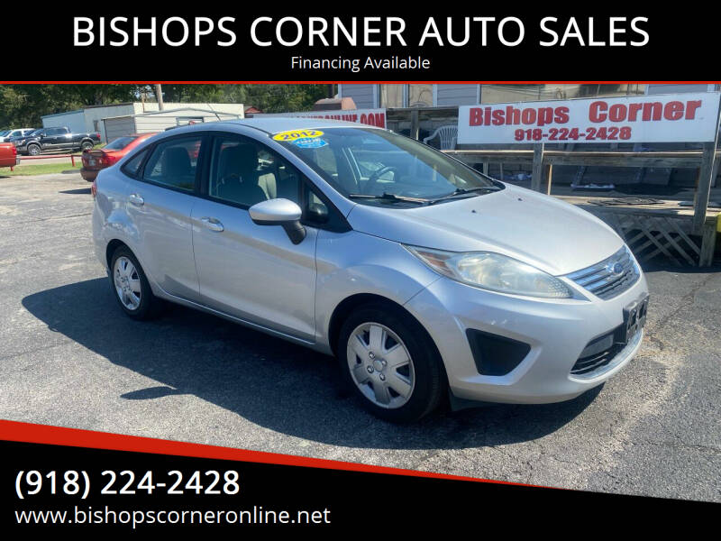 2012 Ford Fiesta for sale at BISHOPS CORNER AUTO SALES in Sapulpa OK