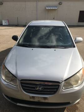 2008 Hyundai Elantra for sale at A ASSOCIATED VEHICLE SALES in Weatherford TX