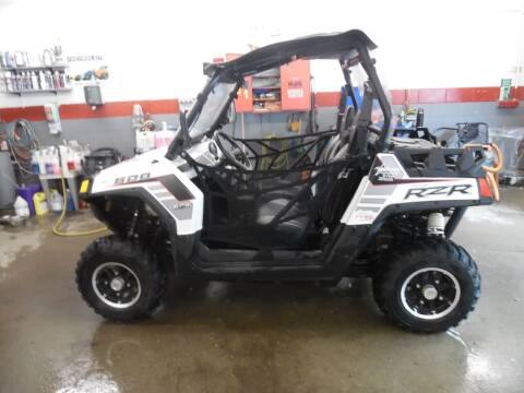 2014 Polaris RZR 800 for sale at East Barre Auto Sales, LLC in East Barre VT