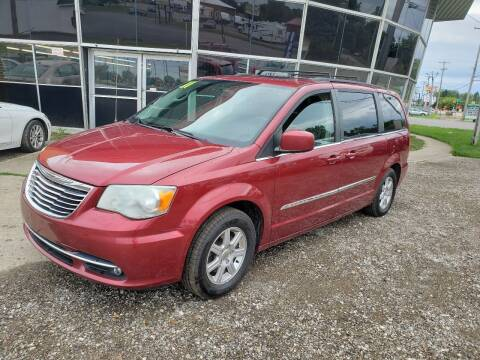 2012 Chrysler Town and Country for sale at Fansy Cars in Mount Morris MI