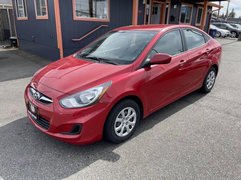 2014 Hyundai Accent for sale at Sabeti Motors in Tacoma WA