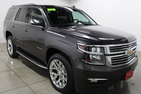 2016 Chevrolet Tahoe for sale at Bob Clapper Automotive, Inc in Janesville WI
