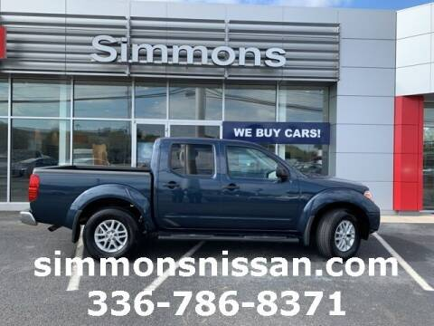 2019 Nissan Frontier for sale at SIMMONS NISSAN INC in Mount Airy NC