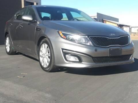 2015 Kia Optima for sale at AUTOMOTIVE SOLUTIONS in Salt Lake City UT