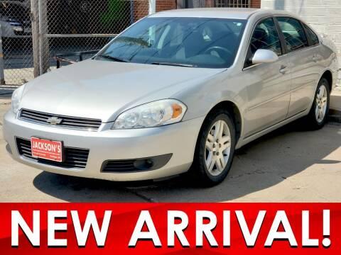 2008 Chevrolet Impala for sale at Jacksons Car Corner Inc in Hastings NE