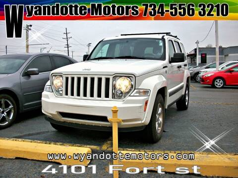 2010 Jeep Liberty for sale at Wyandotte Motors in Wyandotte MI
