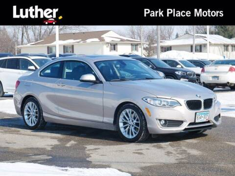 2014 BMW 2 Series for sale at Park Place Motor Cars in Rochester MN