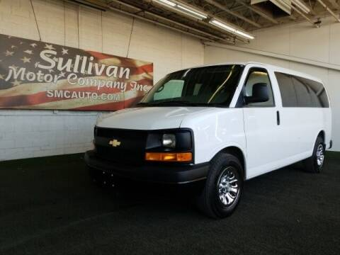 2012 Chevrolet Express Passenger for sale at SULLIVAN MOTOR COMPANY INC. in Mesa AZ