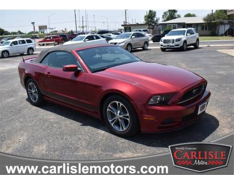2014 Ford Mustang for sale at Carlisle Motors in Lubbock TX