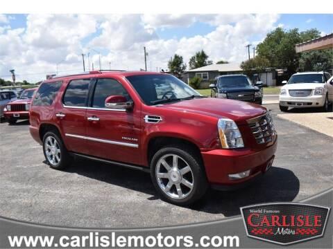 2013 Cadillac Escalade for sale at Carlisle Motors in Lubbock TX