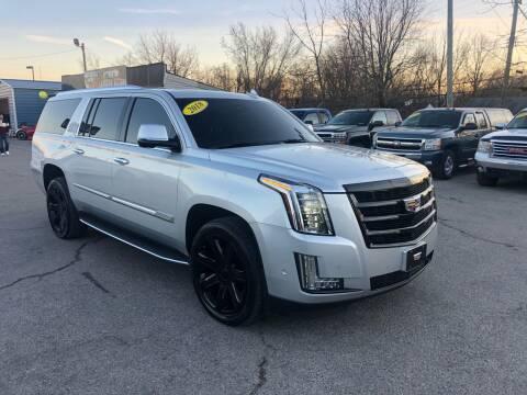 2018 Cadillac Escalade ESV for sale at LexTown Motors in Lexington KY