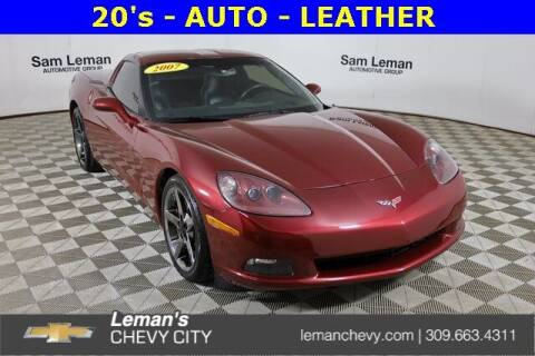 2007 Chevrolet Corvette for sale at Leman's Chevy City in Bloomington IL