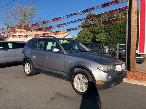 2008 BMW X3 for sale at BRIDGEPORT MOTORS in Morganton NC