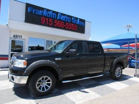 2008 Ford F-150 for sale at Franklin Auto Sales in El Paso TX