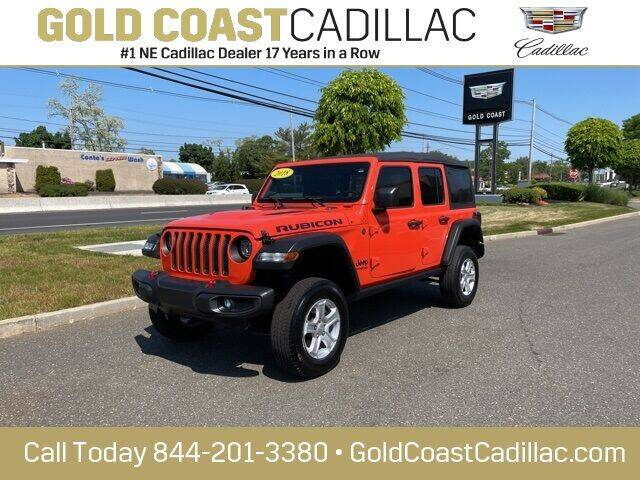 2018 Jeep Wrangler Unlimited for sale at Gold Coast Cadillac in Oakhurst NJ
