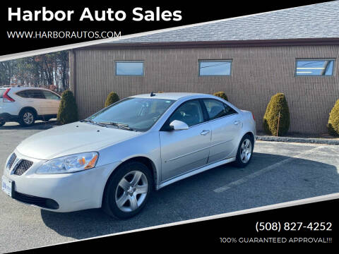 2009 Pontiac G6 for sale at Harbor Auto Sales in Hyannis MA