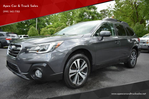 2018 Subaru Outback for sale at Apex Car & Truck Sales in Apex NC