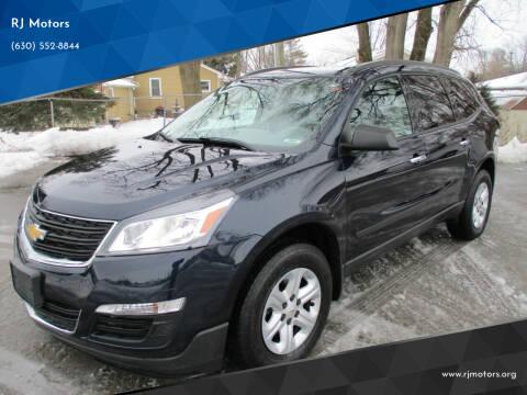 2017 Chevrolet Traverse for sale at RJ Motors in Plano IL