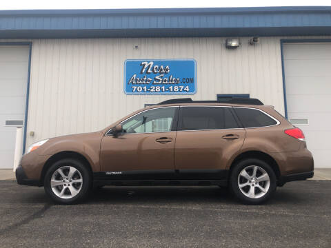 2013 Subaru Outback for sale at NESS AUTO SALES in West Fargo ND