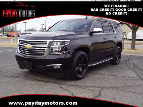 2016 Chevrolet Tahoe for sale at Payday Motors in Wichita And Topeka KS