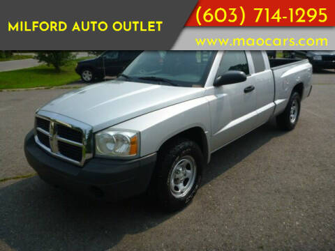 2005 Dodge Dakota for sale at Milford Auto Outlet in Milford NH