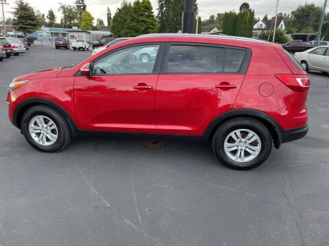 2011 Kia Sportage for sale at Westside Motors in Mount Vernon WA