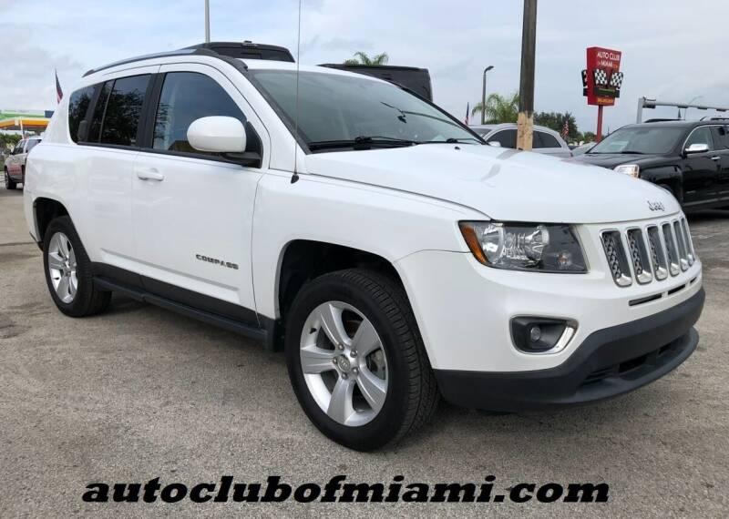 2015 Jeep Compass for sale at AUTO CLUB OF MIAMI, INC in Miami FL