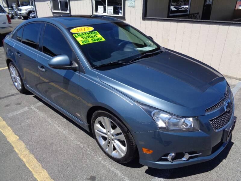 2012 Chevrolet Cruze for sale at BBL Auto Sales in Yakima WA