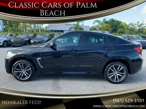 2016 BMW X6 M for sale at Classic Cars of Palm Beach in Jupiter FL