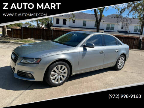 2011 Audi A4 for sale at Z AUTO MART in Lewisville TX