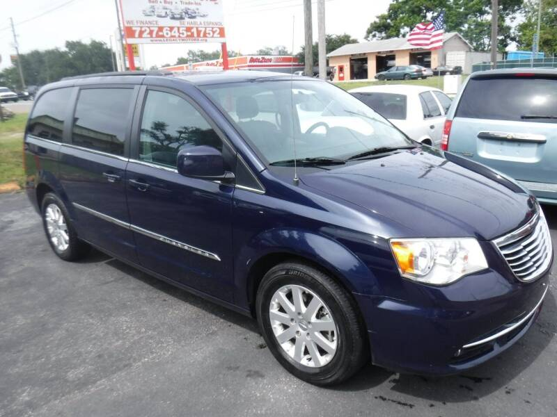 2014 Chrysler Town and Country for sale at LEGACY MOTORS INC in New Port Richey FL
