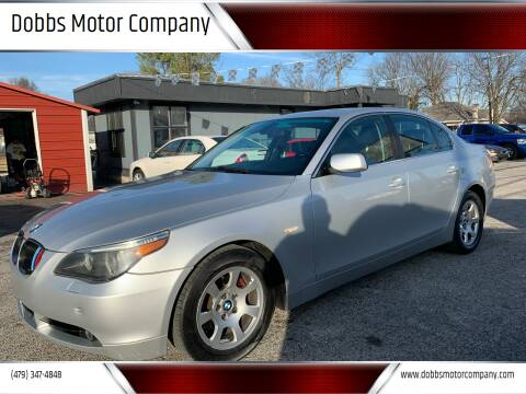 2004 BMW 5 Series for sale at Dobbs Motor Company in Springdale AR
