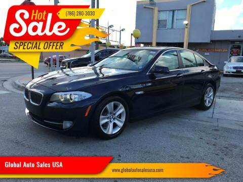2013 BMW 5 Series for sale at Global Auto Sales USA in Miami FL
