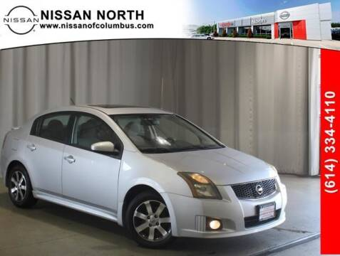 2012 Nissan Sentra for sale at Auto Center of Columbus in Columbus OH