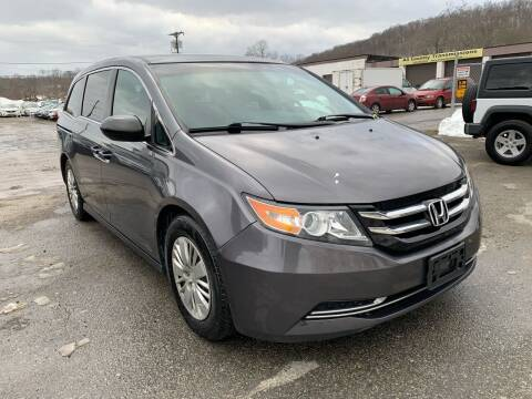 2014 Honda Odyssey for sale at Ron Motor Inc. in Wantage NJ