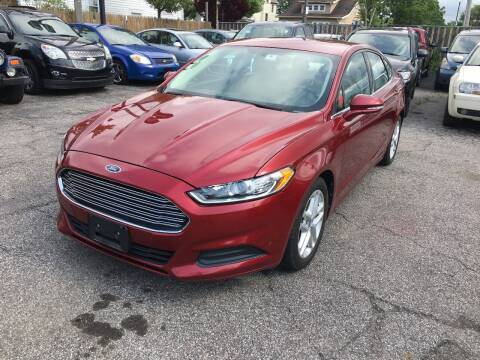2013 Ford Fusion for sale at Payless Auto Sales LLC in Cleveland OH