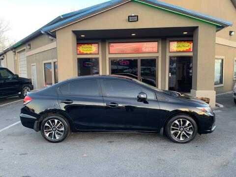 2013 Honda Civic for sale at Advantage Auto Sales in Garden City ID