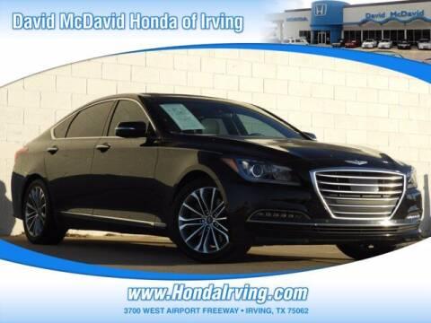 2017 Genesis G80 for sale at DAVID McDAVID HONDA OF IRVING in Irving TX
