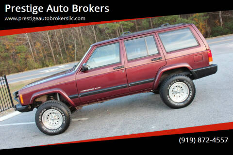 2000 Jeep Cherokee for sale at Prestige Auto Brokers in Raleigh NC