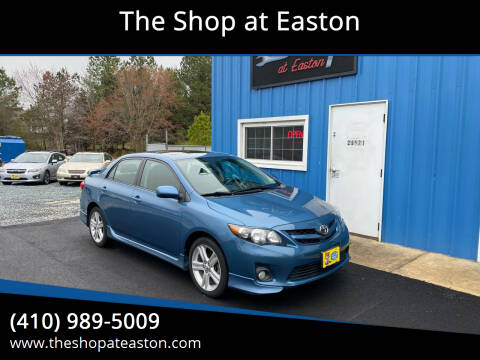 2013 Toyota Corolla for sale at The Shop at Easton in Easton MD