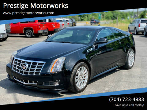 2013 Cadillac CTS for sale at Prestige Motorworks in Concord NC