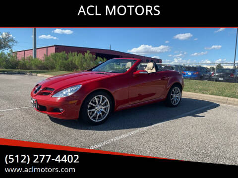 2006 Mercedes-Benz SLK for sale at ACL MOTORS in Austin TX