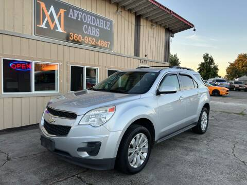 2011 Chevrolet Equinox for sale at M & A Affordable Cars in Vancouver WA