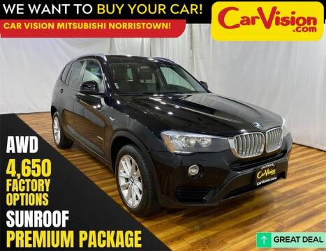2017 BMW X3 for sale at Car Vision Mitsubishi Norristown in Norristown PA