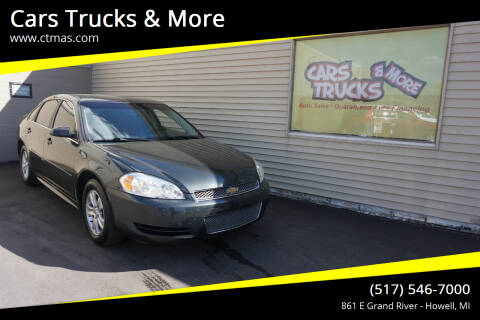 2015 Chevrolet Impala Limited for sale at Cars Trucks & More in Howell MI