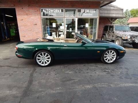 2004 Jaguar XK-Series for sale at AUTOWORKS OF OMAHA INC in Omaha NE