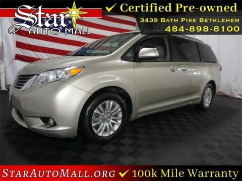 2017 Toyota Sienna for sale at STAR AUTO MALL 512 in Bethlehem PA