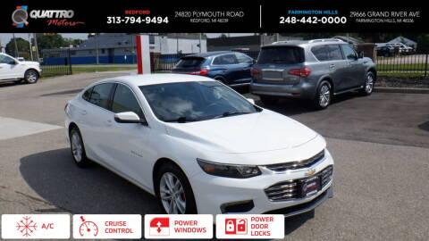 2016 Chevrolet Malibu for sale at Quattro Motors 2 - 1 in Redford MI